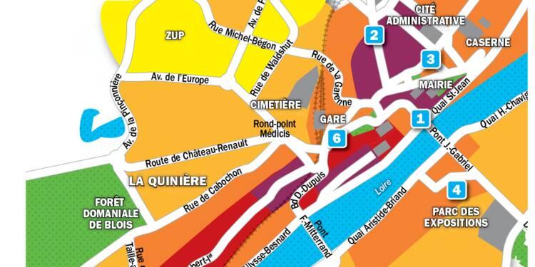 Immobilier à Blois : la carte des prix 2019