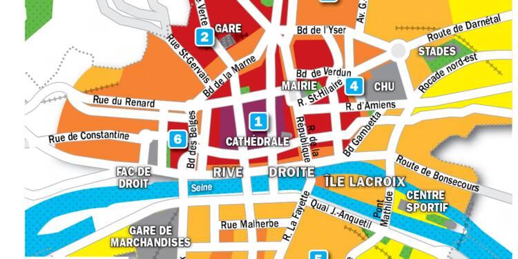 Immobilier à Rouen : la carte des prix 2019