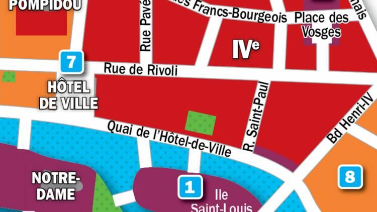 Immobilier à Paris : la carte des prix 2019 dans les 3e et 4e arrondissements