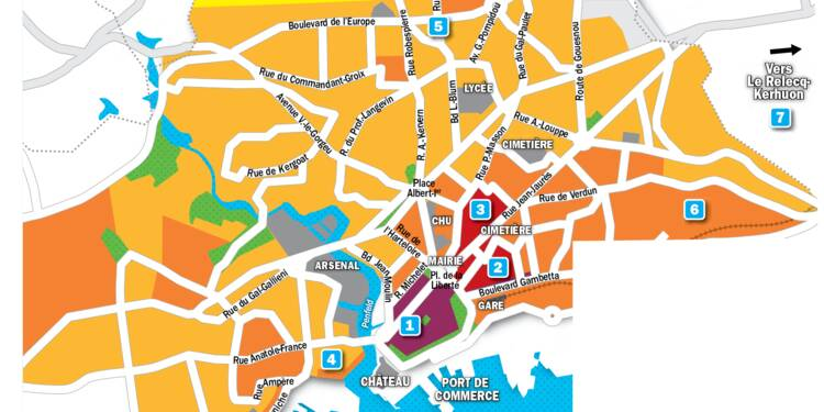 Immobilier à Brest : la carte des prix 2019