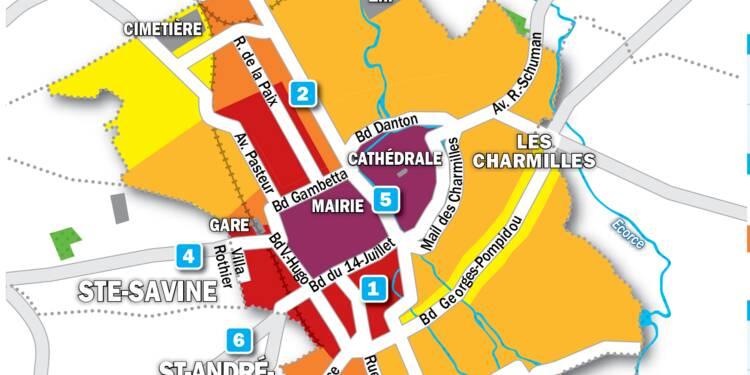 Immobilier à Troyes : la carte des prix 2019