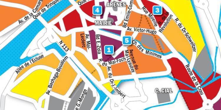 Immobilier à Arles : la carte des prix 2019
