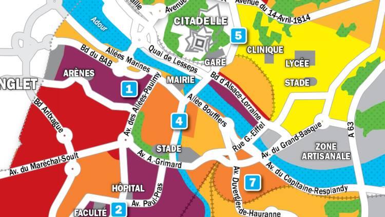 Immobilier à Bayonne : la carte des prix 2019