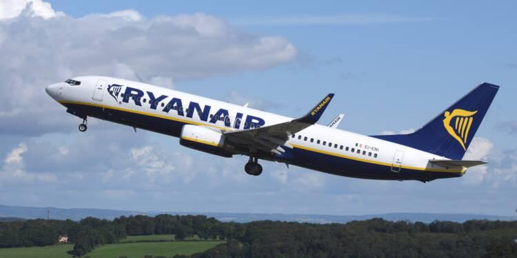 """Ryanair espère """"récupérer des clients"""" de Thomas Cook"""