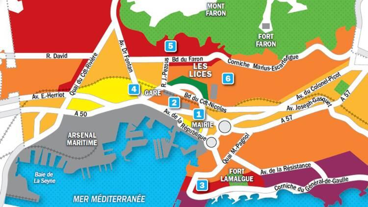 Immobilier à Toulon : la carte des prix 2019