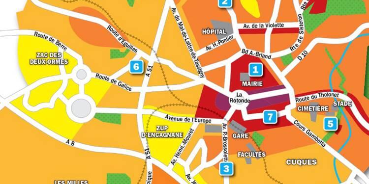 Immobilier à Aix-en-Provence : la carte des prix 2019