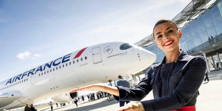 Air France reçoit son premier Airbus A350-900, un avion économe nouvelle génération