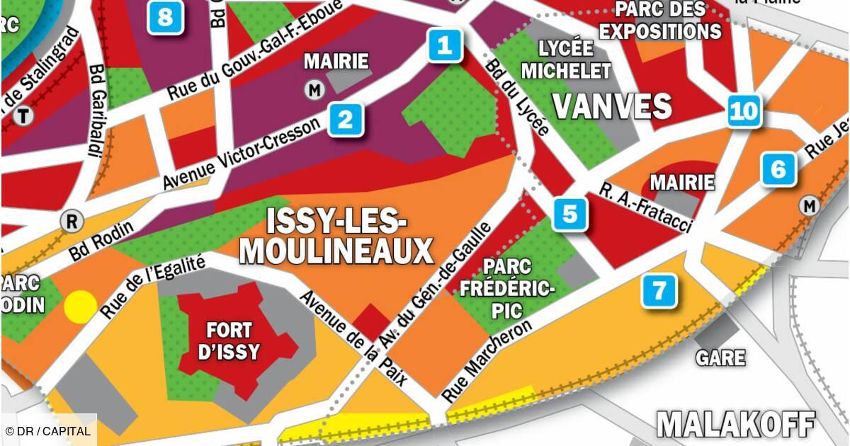 Immobilier A Issy Les Moulineaux Vanves La Carte Des Prix 2019