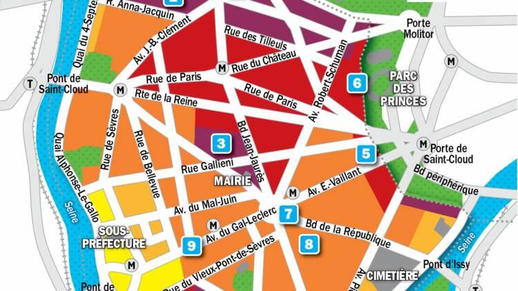Immobilier à Boulogne-Billancourt : la carte des prix 2019