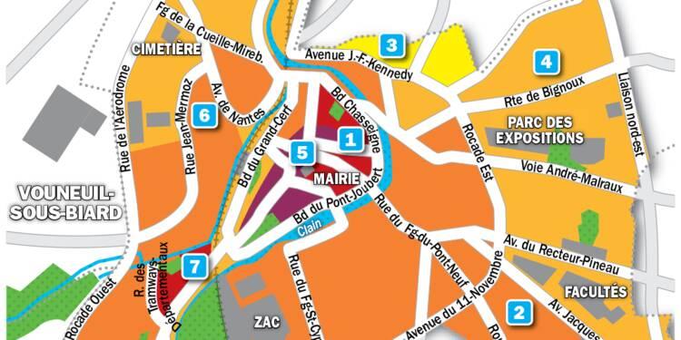 Immobilier à Poitiers : la carte des prix 2019