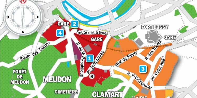Immobilier à Clamart et Meudon : la carte des prix 2019