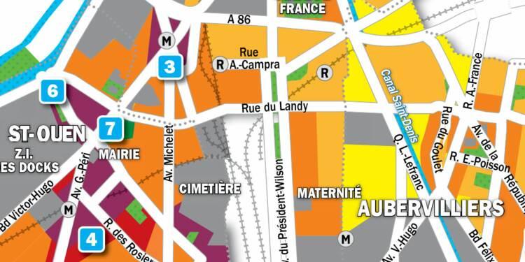 Immobilier à Saint-Ouen, Aubervilliers et Saint-Denis : la carte des prix 2019