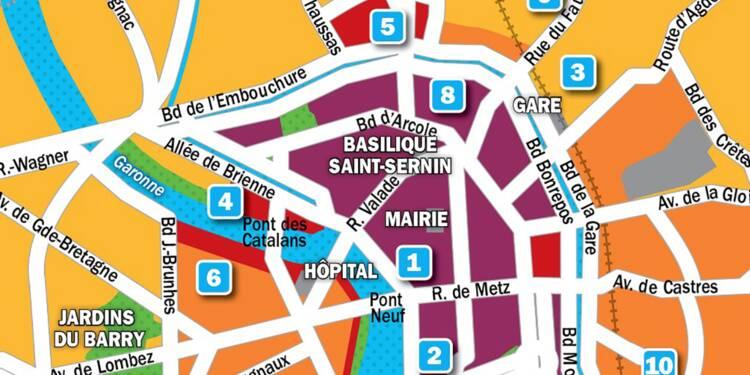 Immobilier à Toulouse : la carte des prix 2019