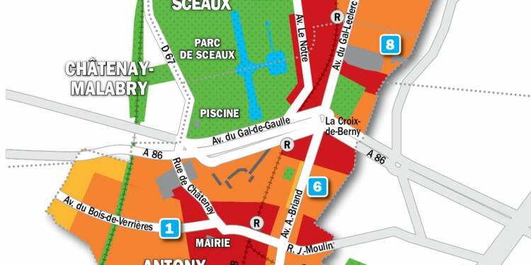 Immobilier à Antony, Bourg-la-Reine, Sceaux : la carte des prix 2019