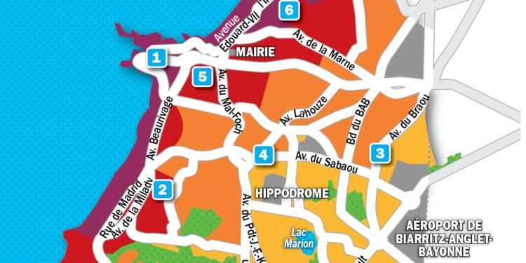 Immobilier à Biarritz : la carte des prix 2019