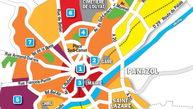 Immobilier à Limoges : la carte des prix 2019
