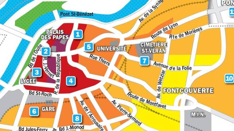 Immobilier à Avignon : la carte des prix 2019