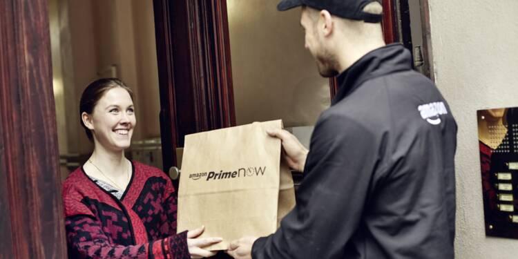 Amazon crève le plafond en Bourse grâce au confinement