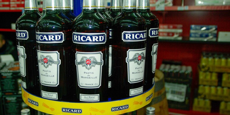 """Pernod-Ricard """"gagne des parts de marché dans de très nombreux pays"""""""