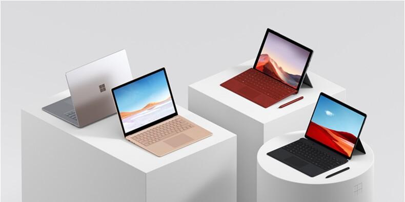 Microsoft Surface : profitez des promotions sur les tablettes hybrides
