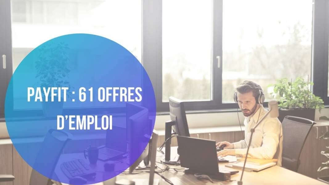 Payfit : 61 offres d'emploi