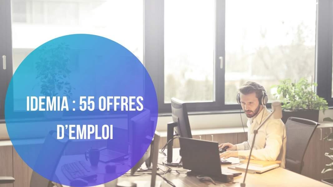 Idemia : 55 offres d'emploi