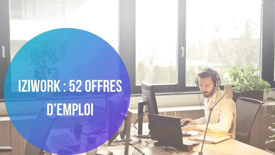 Iziwork : 52 offres d'emploi