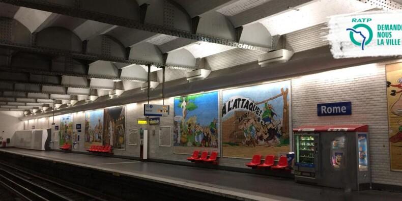 Anniversaire d'Astérix : les stations de métro complètement transformées