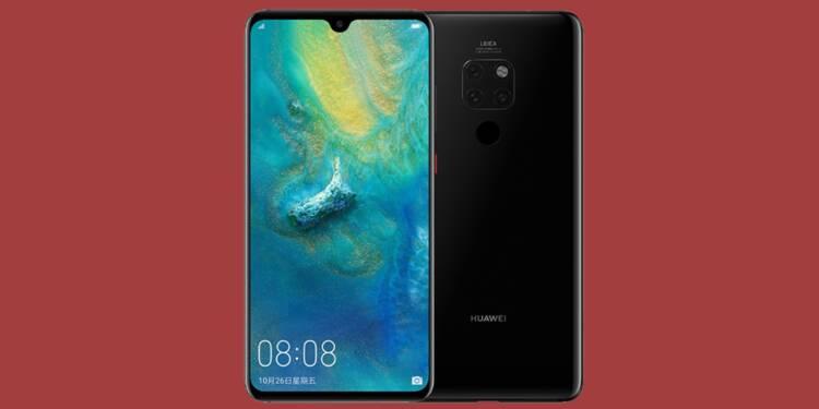 Huawei Mate 20 : -50% sur ce smartphone chez Cdiscount
