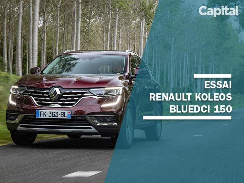 Essai Renault Koleos 1.7 Blue dCi 150 Initiale Paris