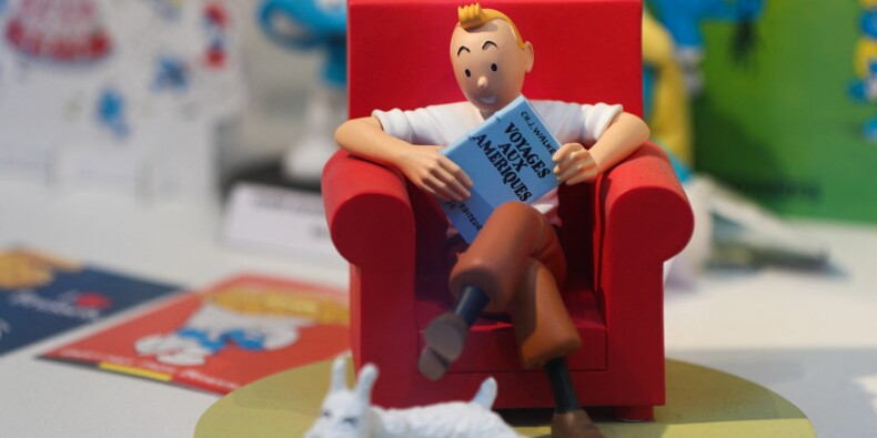 Un dessin de Tintin vendu plus de 250.000 euros