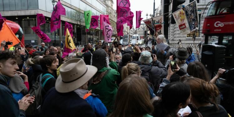 Les militants d'Extinction Rebellion indemnisés jusqu'à 456 euros par semaine au Royaume-Uni