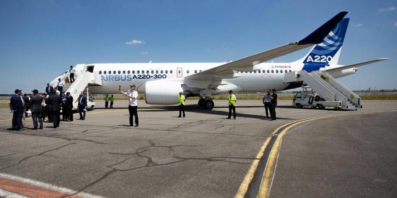 Airbus vend 3 avions A220 à Air Austral