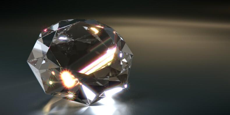 Les prix du diamant vont se stabiliser en 2020 après une année à oublier, selon UBS