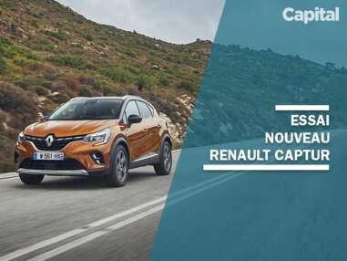 Le nouveau Renault Captur 2020 à l'essai