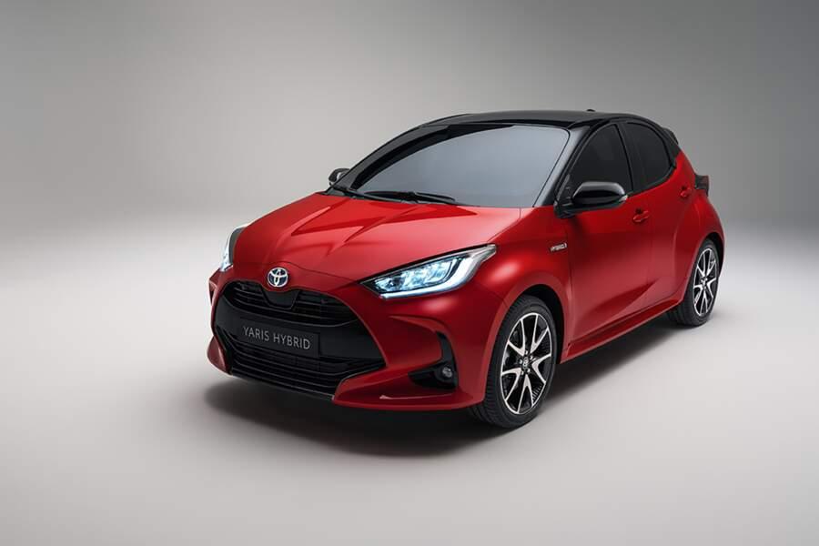 Voici la Toyota Yaris de quatrième génération