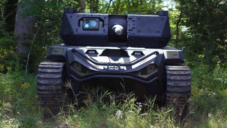 Découvrez le Ripsaw M5, un drone mastodonte à l'allure de tank