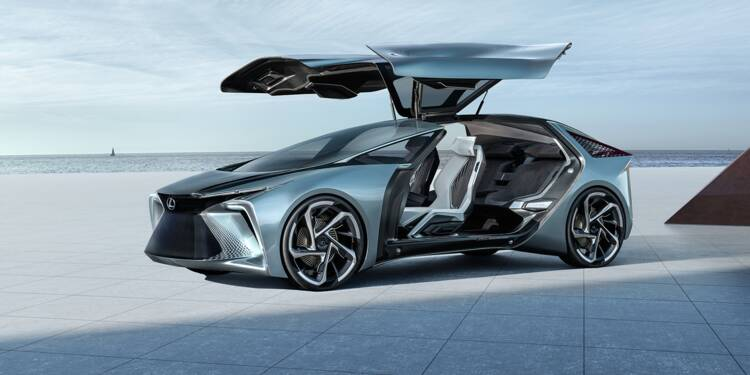 Lexus dévoile sa vision de la voiture du futur à l'horizon 2030