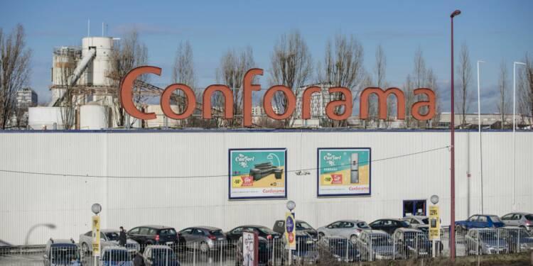 But intéressé par une dizaine de magasins Conforama