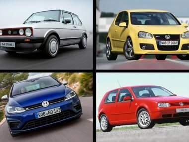 Volkswagen Golf : 45 ans de carrière en images