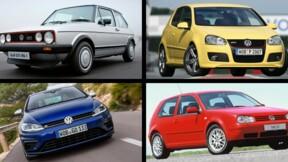 Volkswagen Golf : 45 ans de carrière et d'innovations en images