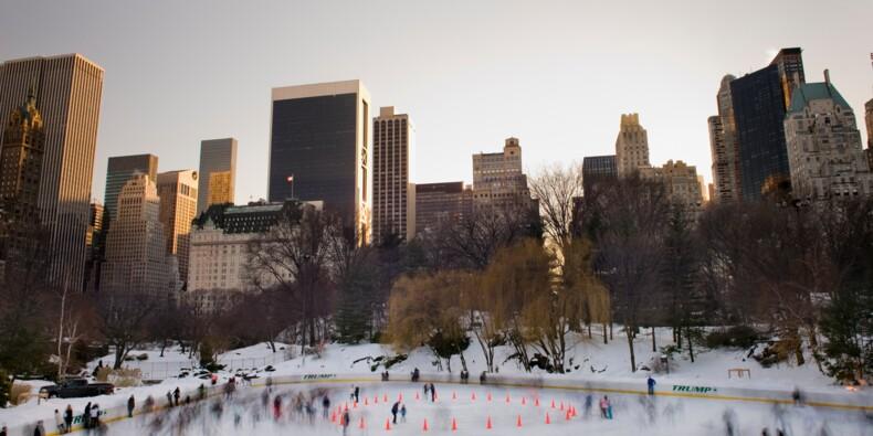 """Les patinoires de New York suppriment """"Trump"""" de leur devanture"""