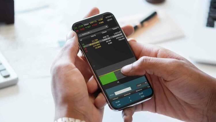 Bourse : ruée des investisseurs particuliers sur les actions