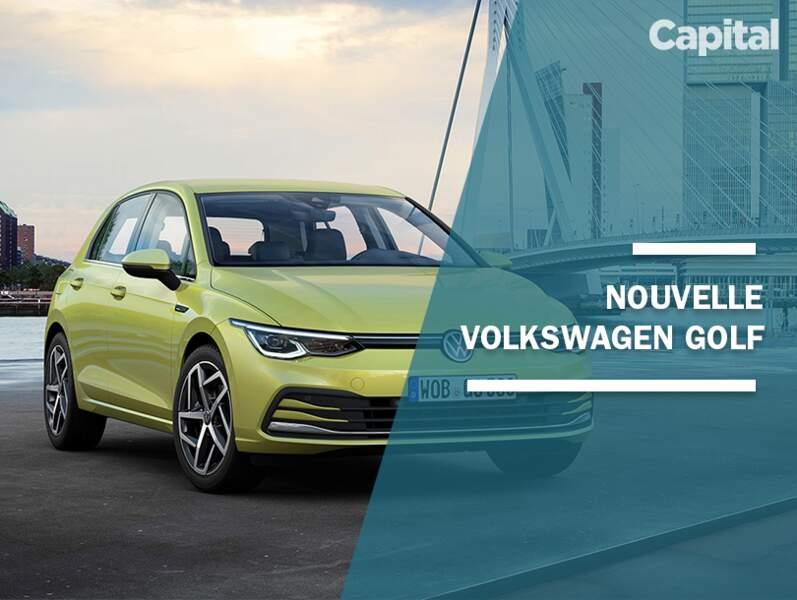 La Volkswagen Golf fait sa révolution technologique