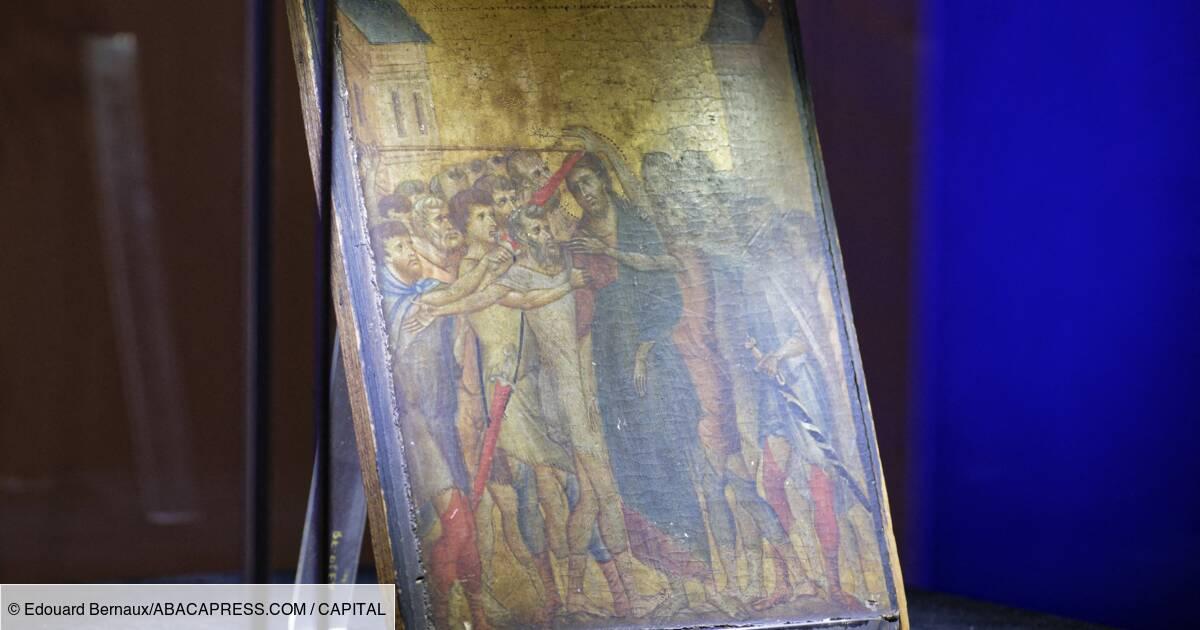 Un Tableau Primitif Du Peintre Italien Cimabue Devient Le Plus Cher Vendu Au Monde Capital Fr