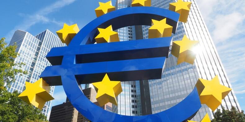 La croissance de l'économie de la zone euro plus faible que prévu en 2021 et 2022, selon la BCE