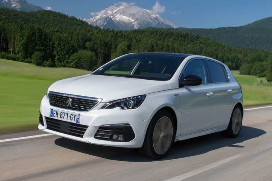 5 - Peugeot 308 (5.486 ventes)