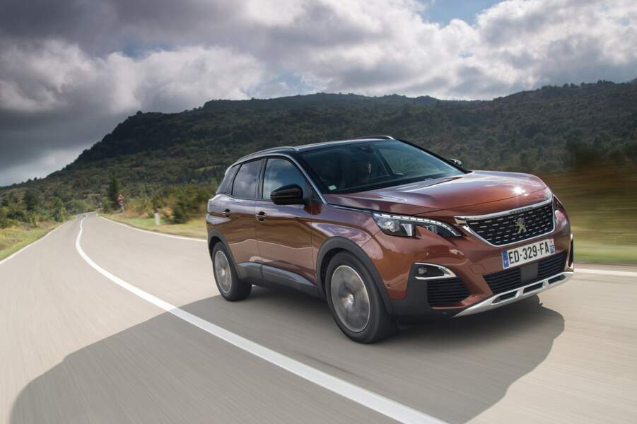 3 - Peugeot 3008 (6.237 ventes)