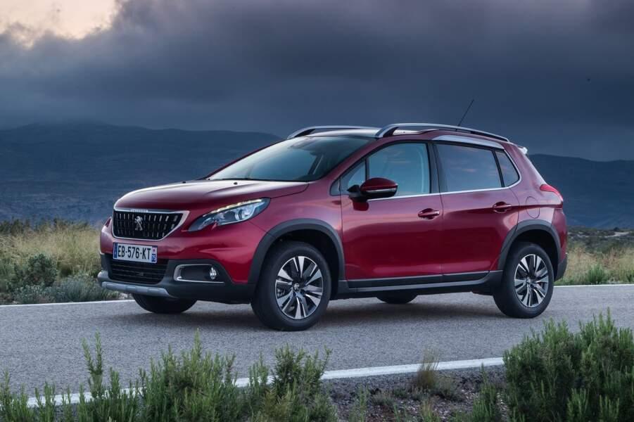 9 - Peugeot 2008 (4.599 ventes)