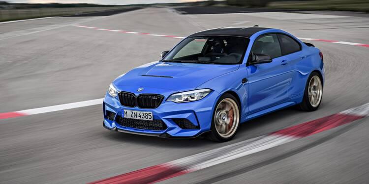 BMW M2 CS : une version radicale qui sonne la fin de carrière